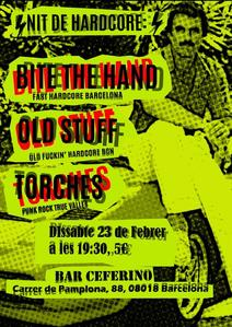 23/02/2019 - BITE THE HAND + OLD STUFF + TORCHES